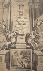 Historie es Fürstenthums Anhalt