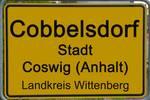 Ortsschild Cobbelsdorf