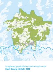 """""""Integrierte gemeindliche Entwicklungskonzept 2030"""" (IGEK) für die Gesamtstadt Coswig (Anhalt)"""