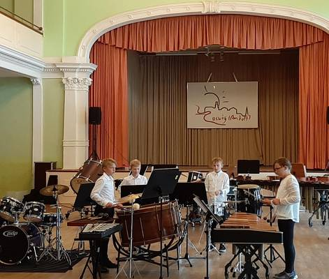 Die 'Heinrich Berger' Musikschule Coswig (Anhalt) informiert: