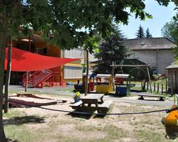Spielplatz Kinderkrippenbereich