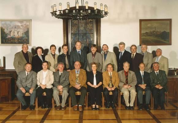 Stadtrat 1999 bis 2004 Foto Rulff